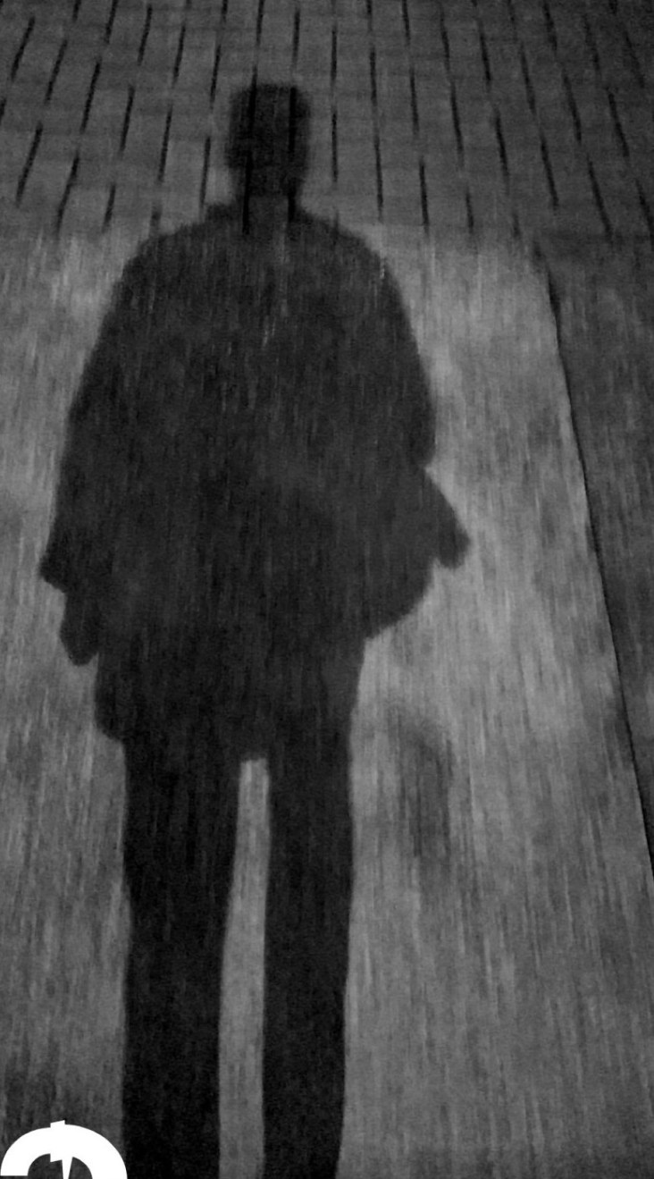 Just my shadow and I. Nothing is hidden. It represents me. I confide in it for it guides me.